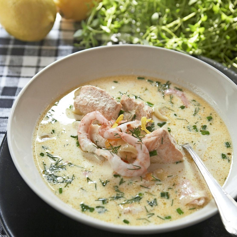 recept på förrätt till fisksoppa