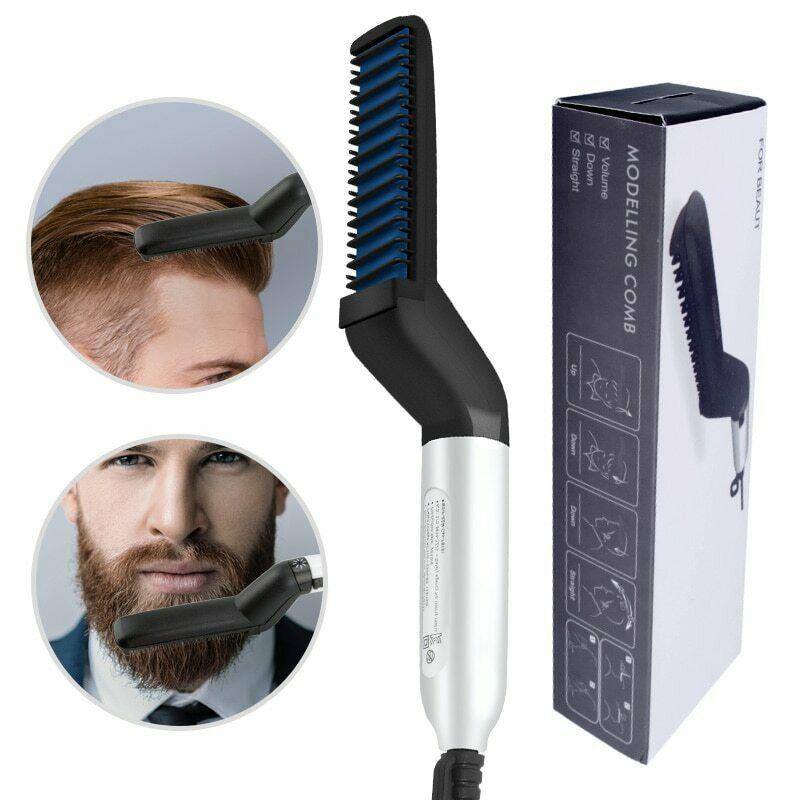 Lisseur à cheveux for WomenBarbe Brosse Lissante for men