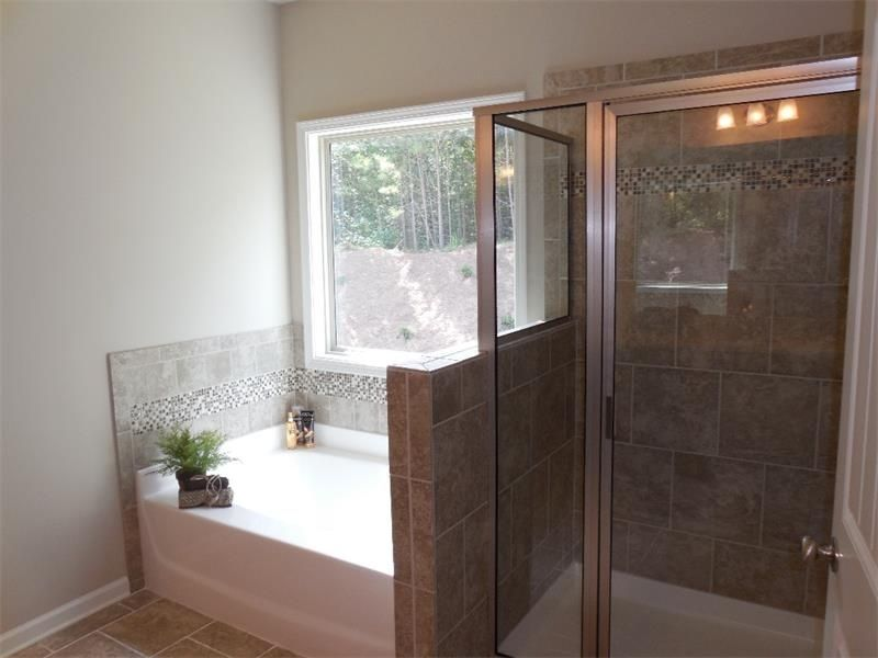 contemporary master bathroom with high ceiling mohawk industries 16208 pelican bay porcelain multi surface - Multi Bathroom Design