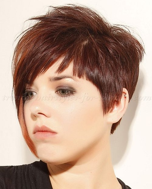Hairstyles For Short Hair Long : Short hairstyles with long bangs hair fringe