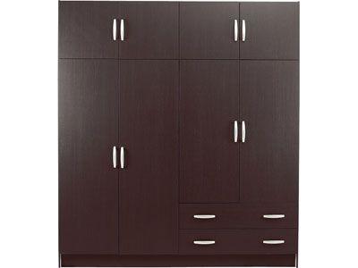 armoire 8 portes 2 tiroirs code