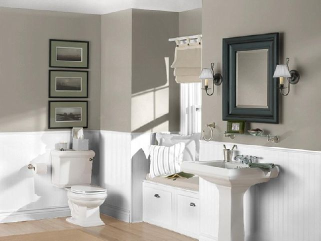 Small Bathroom Paint Color Ideas  Bathroom  Pinterest  Small New Painting Small Bathroom Design Inspiration