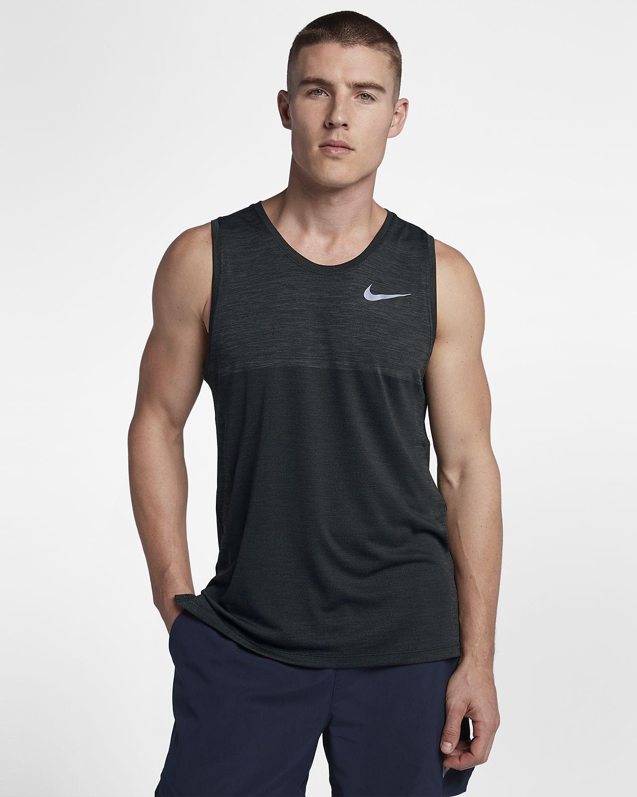 57a03d143910de Nike Dri-FIT Medalist Men s Running Tank