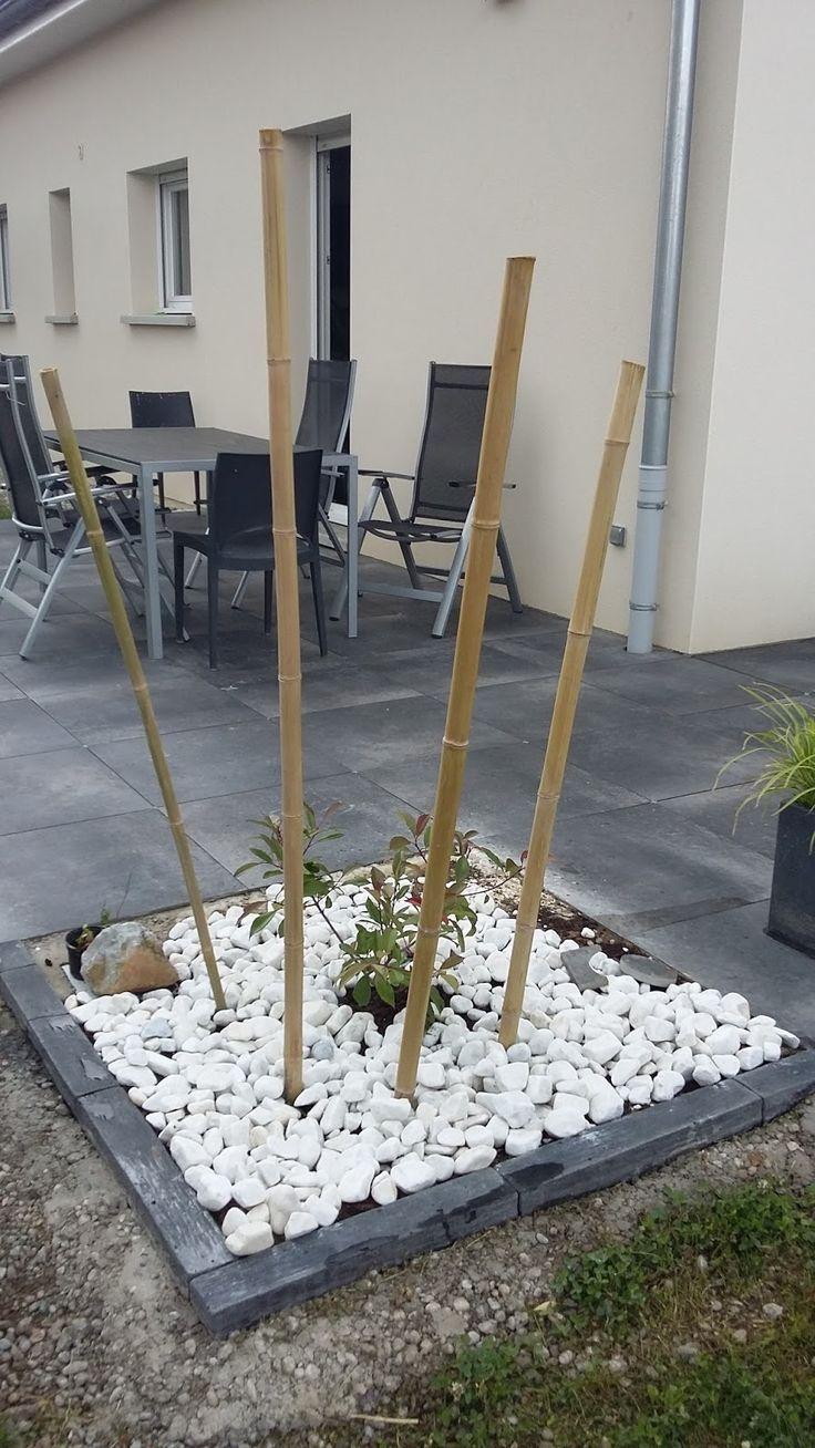 terrasse design dalles noires anthracite carrelage grès ...
