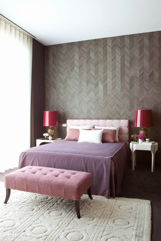 Taupe Bedroom Ideas: Plum - What Do You Think?