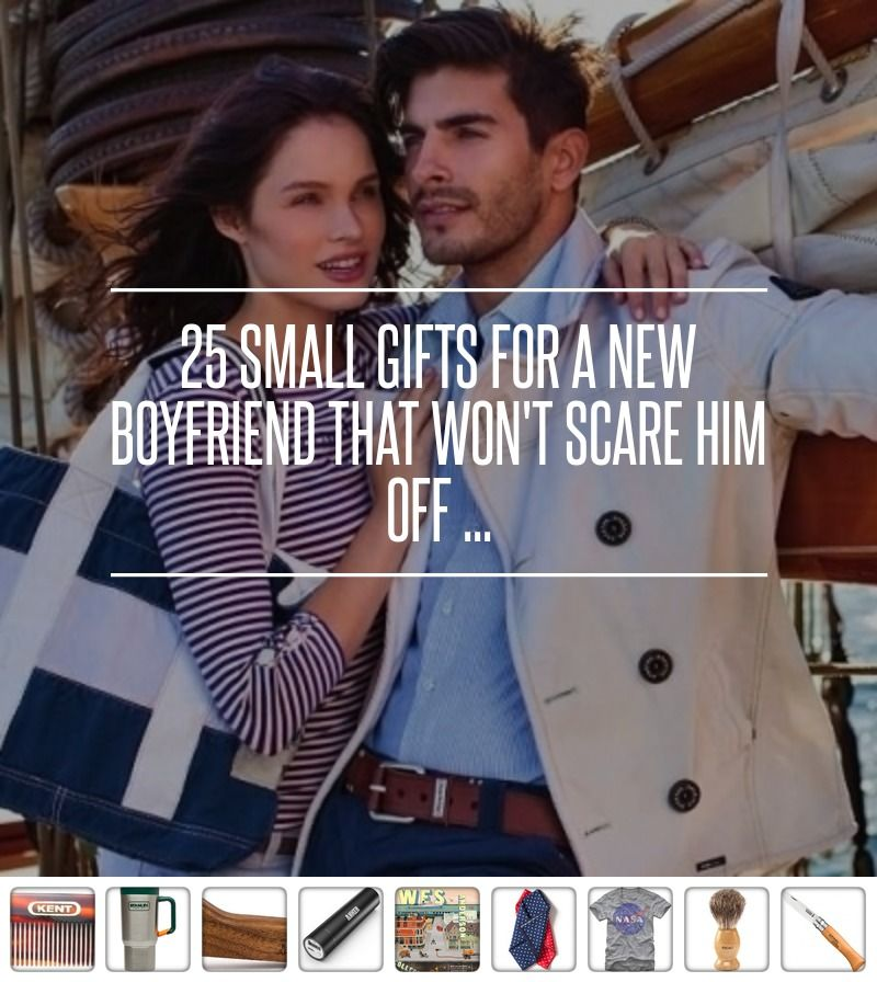 25 Small Gifts For A New Boyfriend That Wont Scare Him Off Love Polka