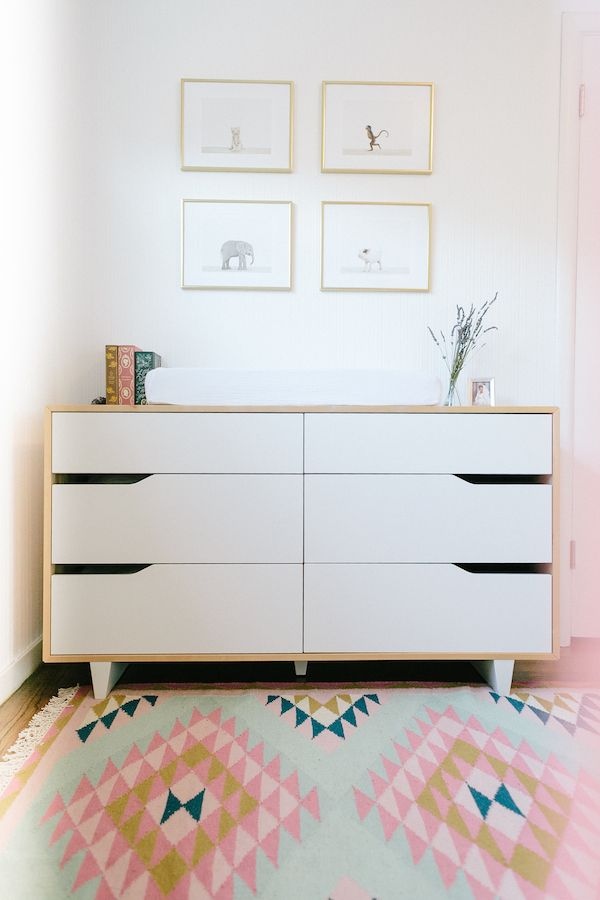 Em Scott S Vibrant Yet Minimal Nursery Ikea Kids Dresserikea
