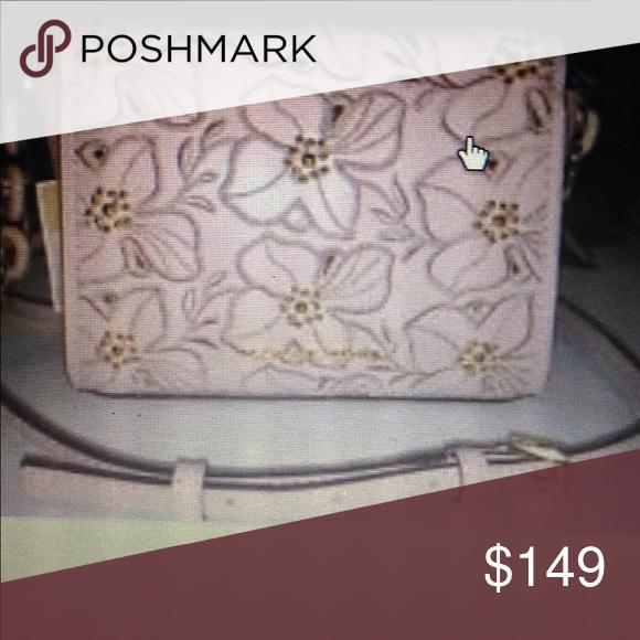 b8edd7614786 Michael Kors Sofia small stud flower cross body Leather mini bag ballet pink  Michael Kors Bags
