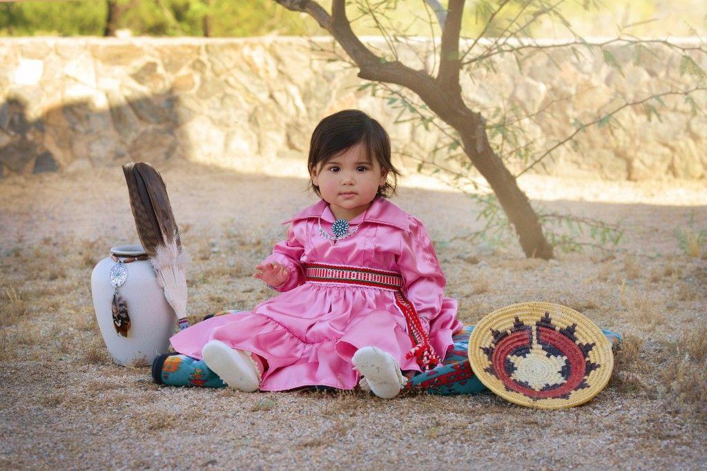 Navajo Dress, Native American Baby. www.facebook.com/...