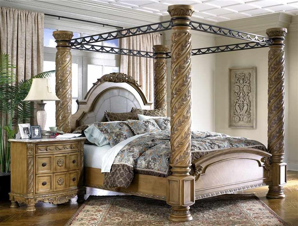 King Size Poster Bed Canopy Bedroom Sets Bedroom Sets