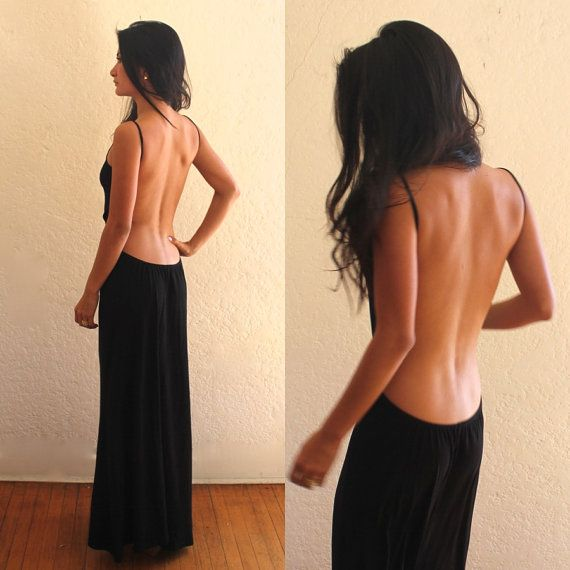 Backless Maxi dress | Sexy, Maxi dresses and Tat