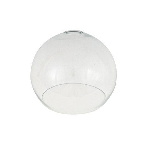 Clear Open Globe Glass Light Shade 250mm For Pendant Lighting