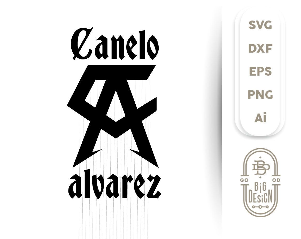Canelo Logo Vector Canelo Alvarez Svg Cuttable Files Canelo Svg Team Canelo Ai Eps Svg Dxf Png Vector Logo Svg Laptop Cover Stickers