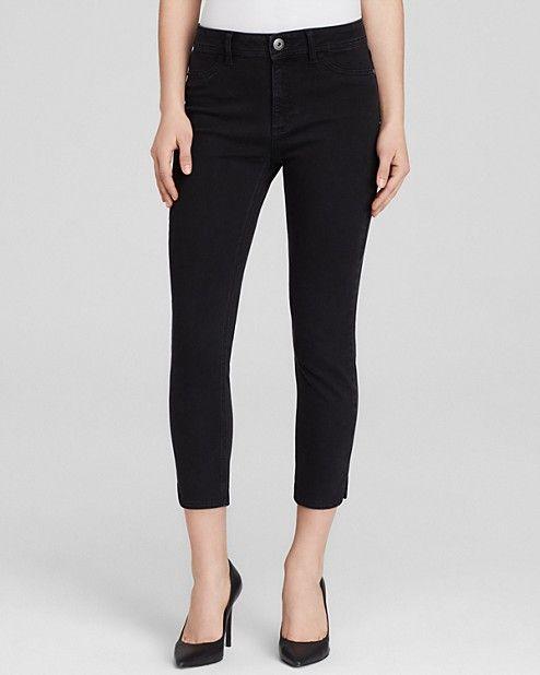 DL1961 Jeans - Bardot High-Rise Cropped in Rhett | Bloomingdale's