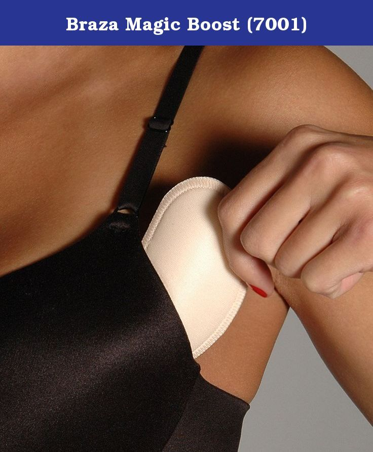 09b49e50f2fc5 The Braza Magic Boost 7001 are removable push-up pads that you can add to  any bra to give your bust a lift! The Braza Magic Boost 7001 gives ...