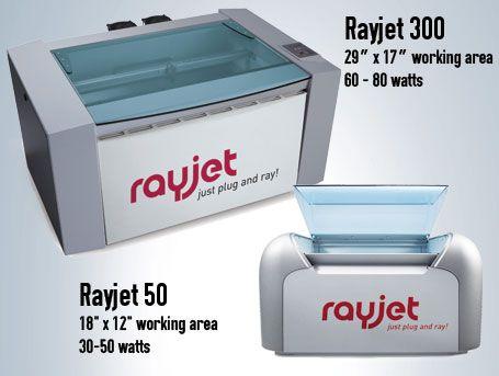 Trotec's Rayjet 300 and Rayjet 50 - Laser Cutter | Make Magic ...