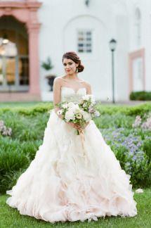 Romantic Spanish-Inspired Wedding Inspiration | Photos - Style Me ...