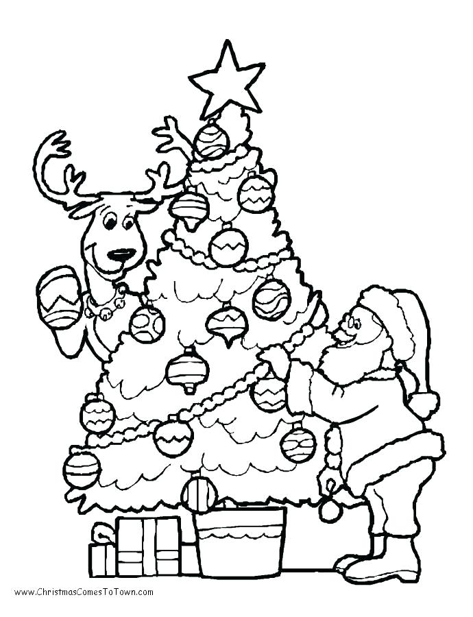 Free Santa Coloring Pages Free Coloring Pages Pictures To