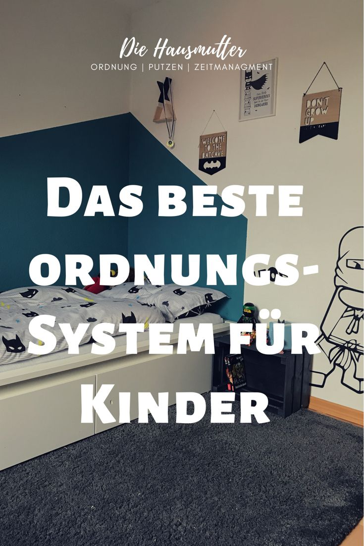 Photo of Organizing system for children (DIY instructions for Ikea Trofast) – The housemother
