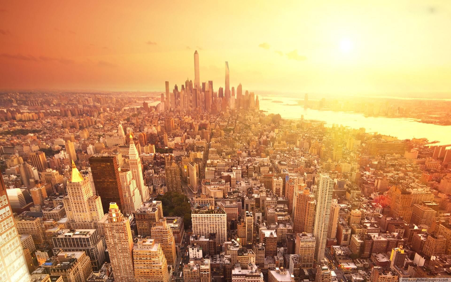 Beautiful New York City Morning Scenery 1920x1200 What Is It