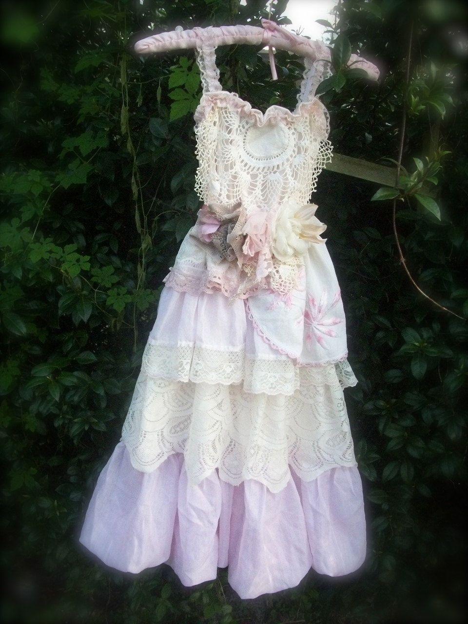 Flower Girl Tea Party DressCustom. 100.00, via Etsy
