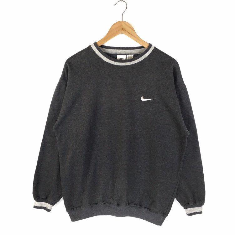 Vintage Sweatshirt Nike Swoosh Sweatshirt Embroidery Small Vintage Nike Sweatshirt Vintage Sweatshirt Sweatshirts