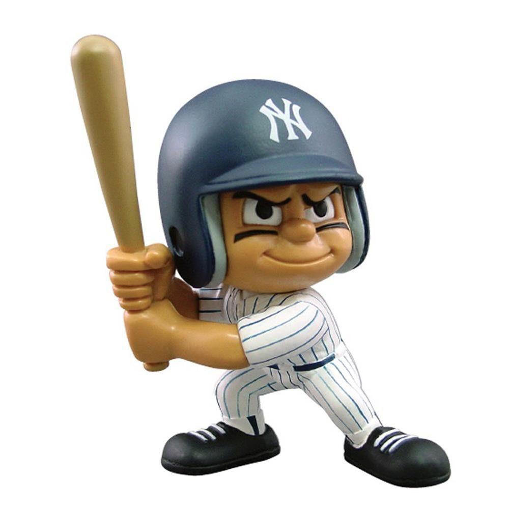 New York Yankees MLB Lil Teammates Vinyl Batter Sports Figure (2 3-4inches Tall) (Series 3)