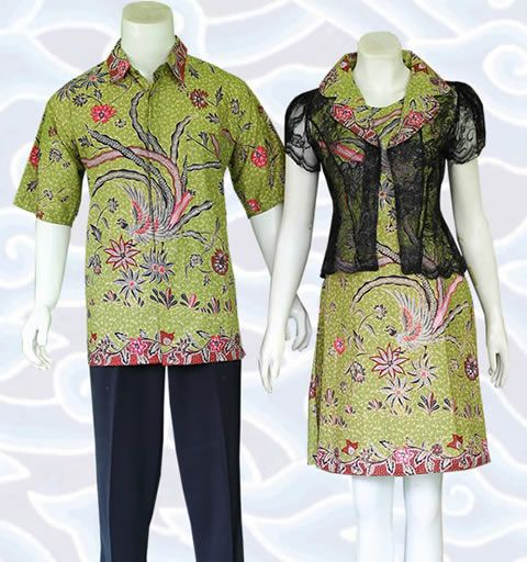 Baju Batik Couple Modern Terbaru Harga Murah Batik