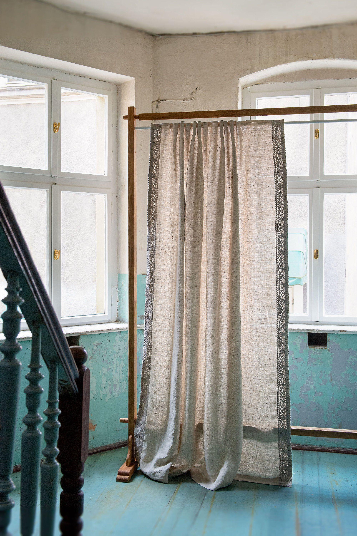Pin On Linen Curtains Lniane Zaslony