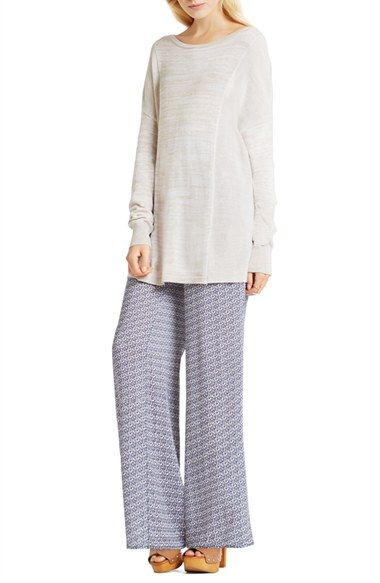 BCBGeneration Cotton Blend Tunic Sweater