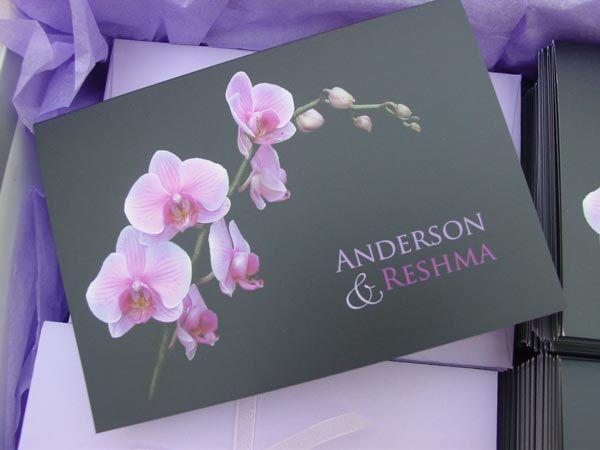 Orchid wedding invitation Wedding Flowers 2 Pinterest Orchid
