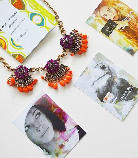 Vintage-inspired Flower #Necklace 22,95 € #happinessbtq