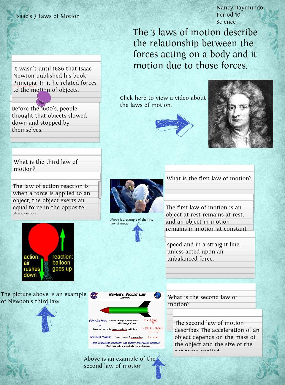 understanding the three laws of graphical solutions in newtons laws As mentioned earlier, johannes kepler had devised three laws of planetary motion without the use of newton's law of gravity they are, it turns out, fully consistent and, in fact, one can prove all of kepler's laws by applying newton's theory of universal gravitation.