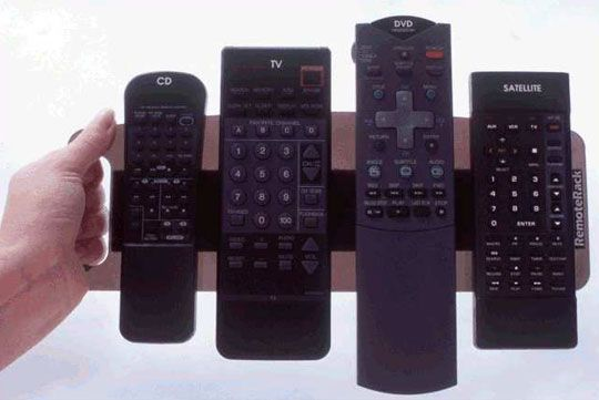 Remote Control Storage Velcro Under Your Coffee Table