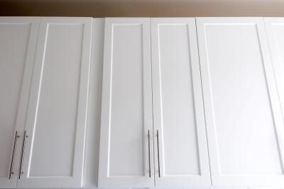 How To Dress Up Flat Cabinets