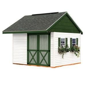 Best Barns Clarion 10 Ft X 10 Ft Prepped For Vinyl Storage Shed Kit With Floor Clarion 1010f The Home Depot Building A Shed Storage Shed Kits Pallet Shed Plans