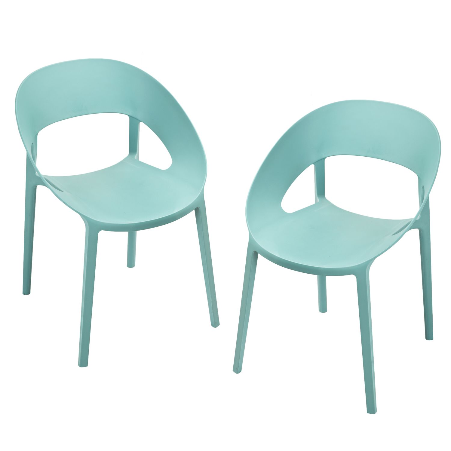 Modern Plastic Chairs - Joveco 2 plastic chair modern design surfin