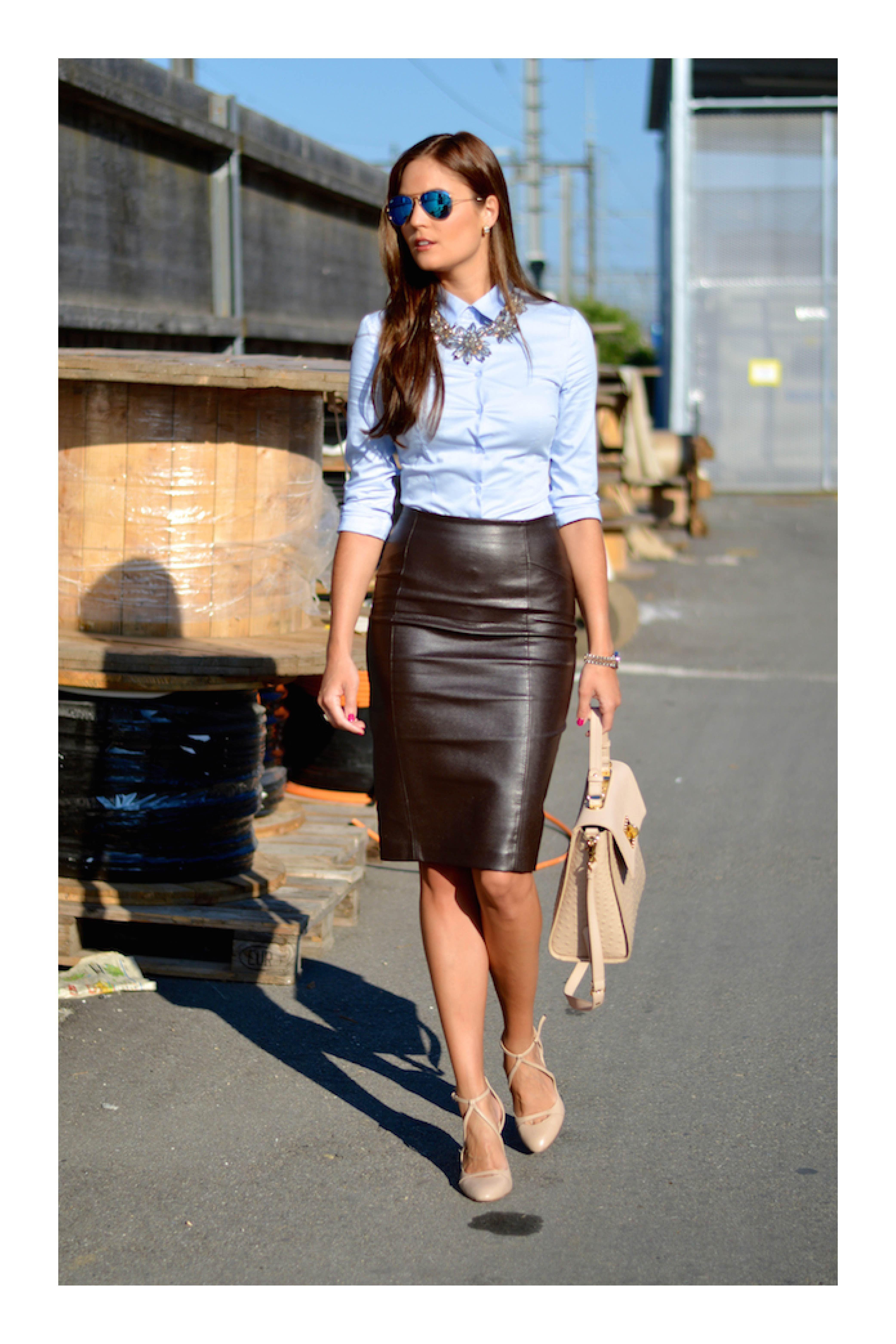 Luce una falda lápiz de la manera más elegante | Ropa, Moda