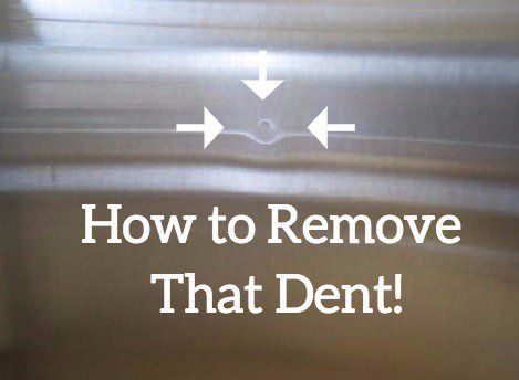 How To Remove Dents From Stainless Steel Liances