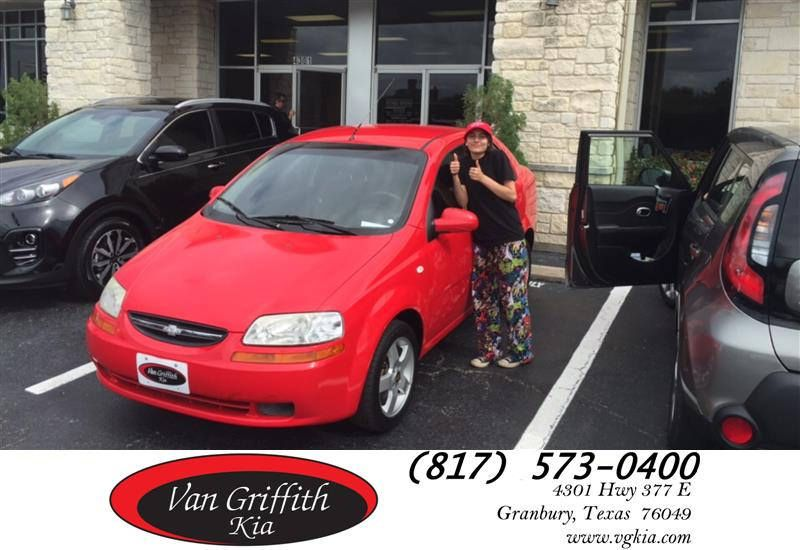 Congratulations Celest On Your Chevrolet Aveo From Tyler Warner