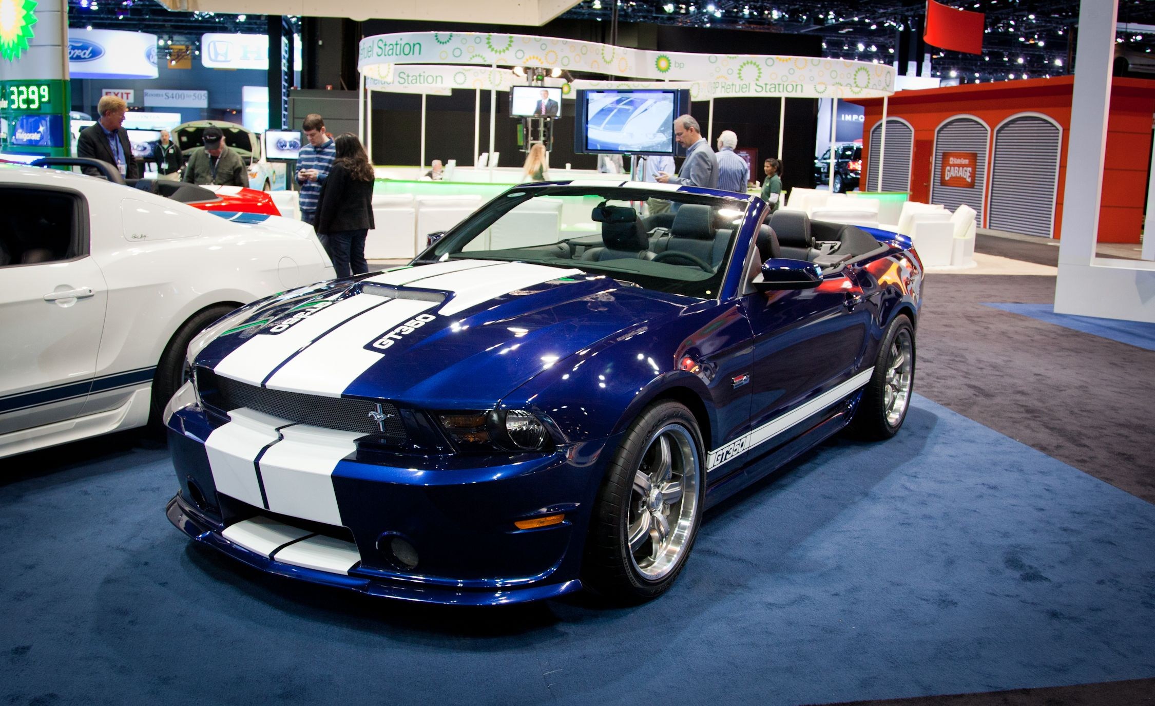 Shelby american debuts its 2012 mustang convertible
