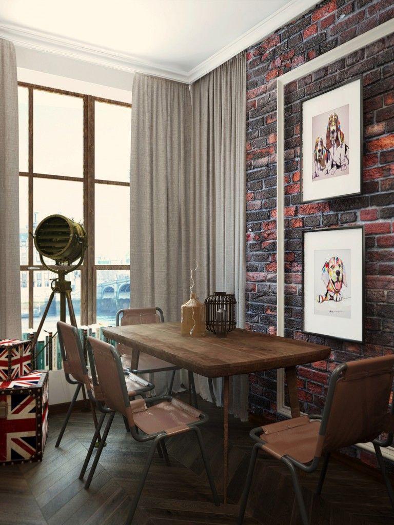 London Sky: eclectic 10 Sqm studio apartment in London