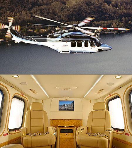 5 of the World's Most Luxurious Private Helicopters