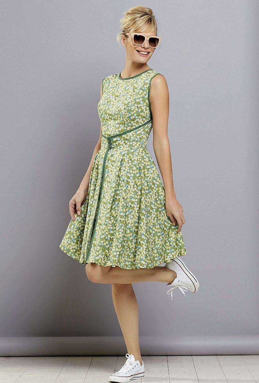 Free PDF pattern, GBSB Walkaway dress   Free dress patterns ...