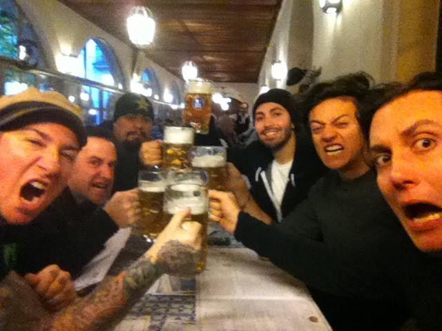 Desayuno en Munich - Avenged Sevenfold, A7X 2013