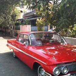 Dijual Impala Chevy 1961 Merah Membara Indonesia Muscle Car
