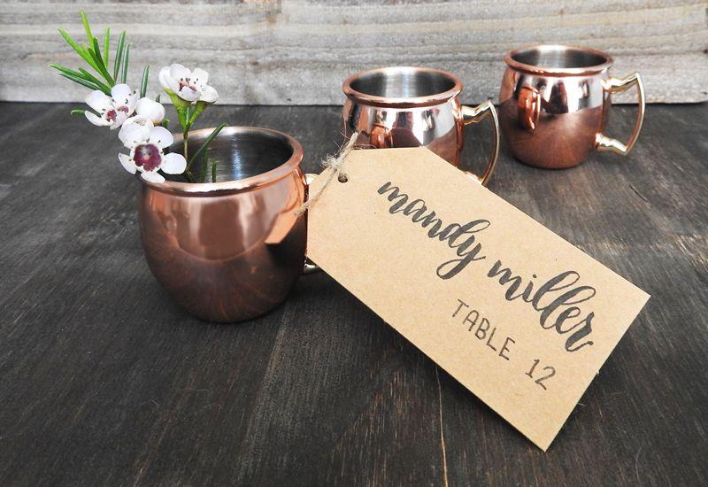 Diy mini moscow mule mugs with escort cards moscow favors and diy mini moscow mule mugs with escort cards blushingbellsia solutioingenieria Gallery