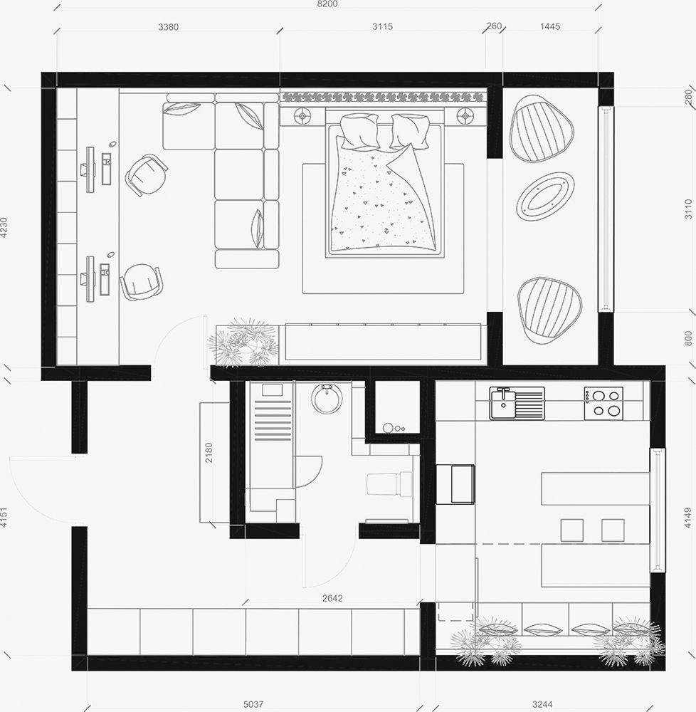Картинка план квартиры с размерами