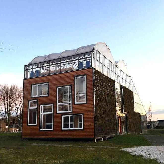 While taking up residence in a structure meant for plants may initially sound like a wacky idea, some are experimenting with it as a sustainable and energy-efficient option. In the port city of Rotterdam, this Dutch family is taking part in a three-year test pilot project that has them living full-time in a greenhouse home, created by design students at the Rotterdam University.
