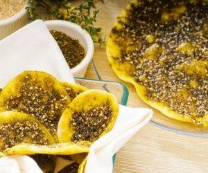 مناقيش زعتر لذيذة Recipe Vegan Dishes Jewish Recipes Food